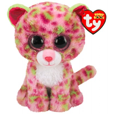 BEANIE BOO'S SMALL - LAINEY LE LEOPARD