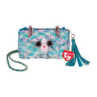 POCHETTE CARREE SEQUINS - Whimsy le chat