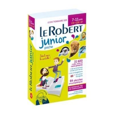 Le Robert Junior poche -  Le Robert