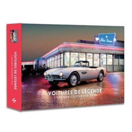 L'agenda-calendrier voitures de légende -  Hugo Image