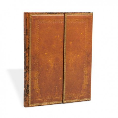 Carnet Paperblanks CUIR REPOUSSÉ- Ligné Avec Rabat Format 18 x 23 cm