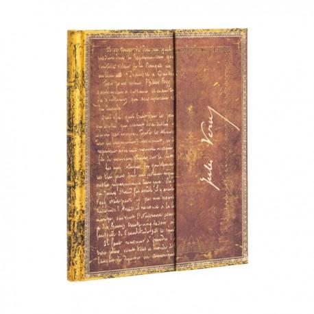 Carnet Paperblanks VERNE, LE TOUR DU MONDE- Ligné Avec Rabat Format 18 x 23 cm