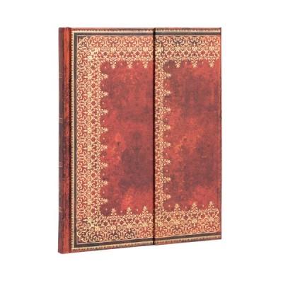 Carnet Paperblanks FEUILLE D'OR- Uni Avec Rabat Format 18 x 23 cm