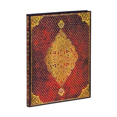 Carnet Paperblanks TRÈFLE DORÉ- Uni Avec Elastique Format 18 x 23 cm