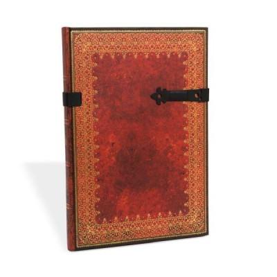 Carnet Paperblanks FEUILLE D'OR - Uni Fermoir magnétique Format 21 x 30 cm