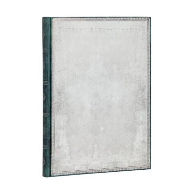 Carnet Paperblanks SILEX BLANC - Uni Avec Elastique Format 21 x 30 cm