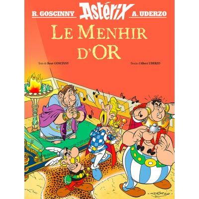 Astérix - Le menhir d'or - René Goscinny - Albert Uderzo