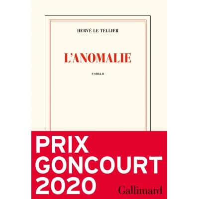 L'anomalie - Hervé Le Tellier - GONCOURT 2020