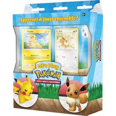 Pokémon Kit du dresseur 2020 Pikachu & Evoli 2 Decks en Français