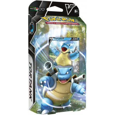 Pokémon Deck Starter Combat V - Kit Initiation - Tortank-V en Français