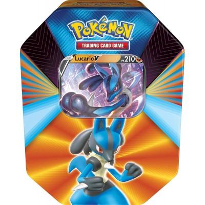 Pokémon Pokébox 4 boosters Lucario-V Février 2021 en Français