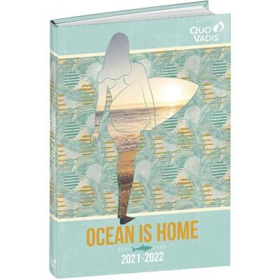 Agenda Scolaire 2021-2022 Journalier OCEAN IS HOME