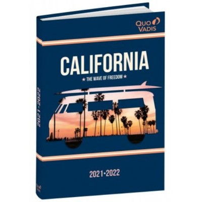 Agenda Scolaire 2021-2022 Journalier CALIFORNIA
