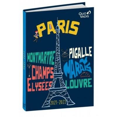 Agenda Scolaire 2021-2022 Journalier PARIS