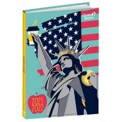 Agenda Scolaire 2021-2022 Journalier USA