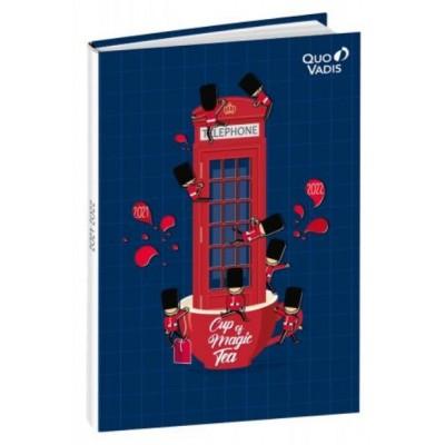 Agenda Scolaire 2021-2022 Journalier LONDON PHONE