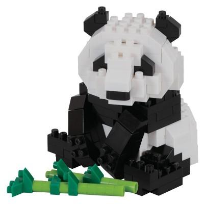 Nanoblock Panda Géant - 220 pièces - Difficulté 2/5