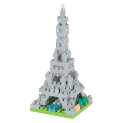 Nanoblock Tour Eiffel Mini Collection - 130 pièces - Difficulté 2/5