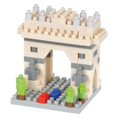 Nanoblock Arc de Triomphe Paris Mini Collection - 140 pièces - Difficulté 2/5