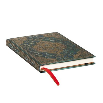 Agenda 2022 Paperblanks CHRONIQUES TURQUOISES Jan/Déc Vertical Format Midi 13 x 18 cm