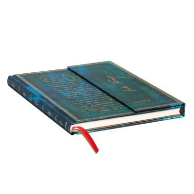 Agenda 2022 Paperblanks JULES VERNE Jan/Déc Vertical Format Ultra 18 x 23 cm