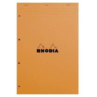 Bloc-notes Perforé 21x31,8 A4+ Rhodia N°20