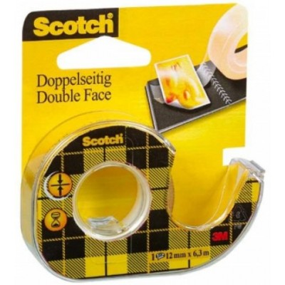 Scotch ruban adhésif double face avec Dévidoir