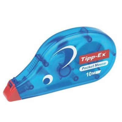 Tipp-Ex Pocket Mouse Correcteur de poche ruban 10m