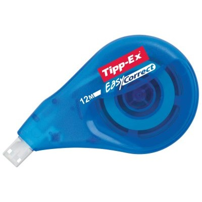Tipp-Ex Easy Correct Correcteur Latéral ruban 12 m