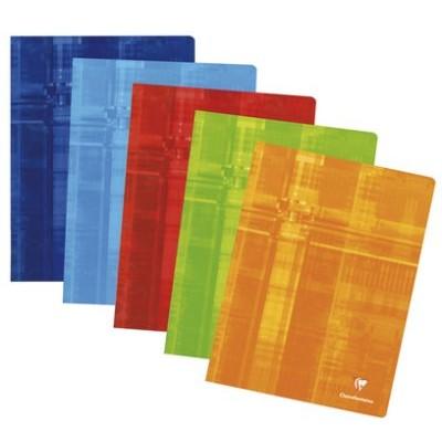 Cahier classique 24x32 96 pages petits carreaux 5x5