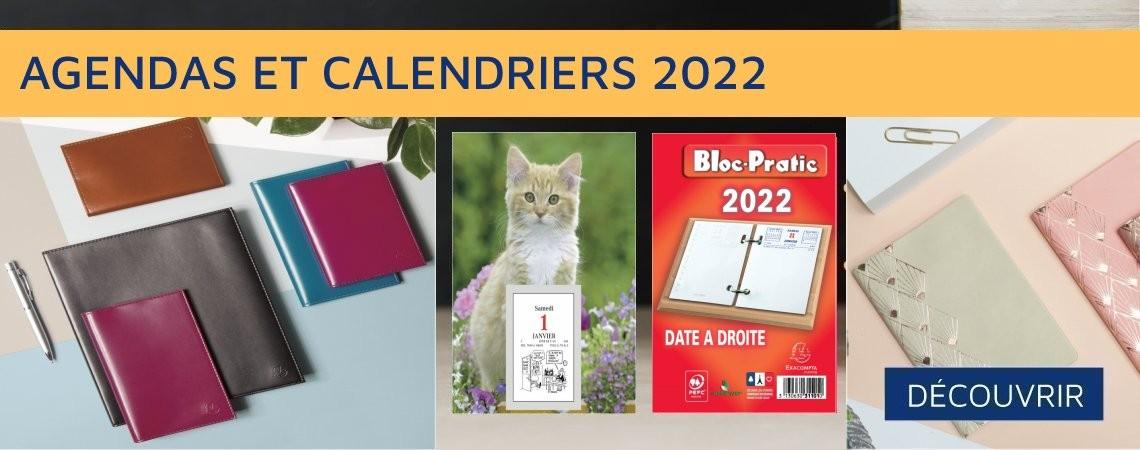 AGENDAS ET CALENDRIERS 2022