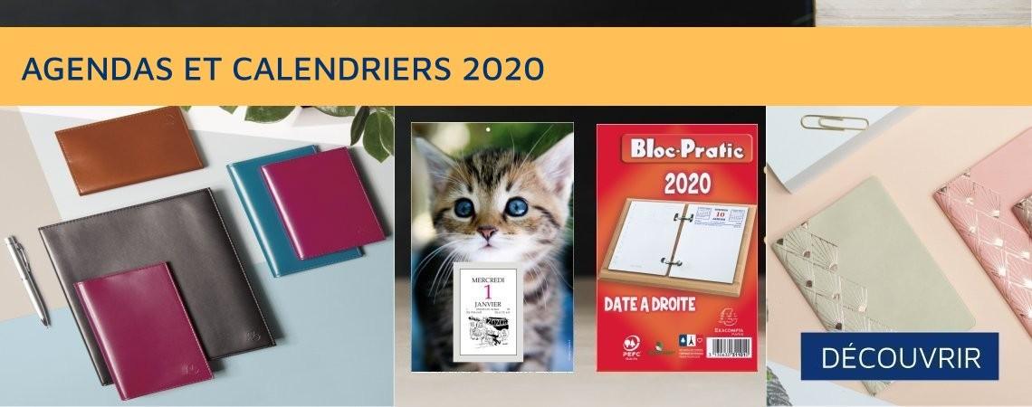 Agendas Calendriers Ephémérides 2020