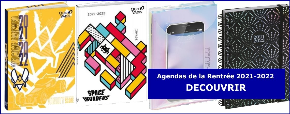 AGENDAS DE LA RENTREE 2021-2022